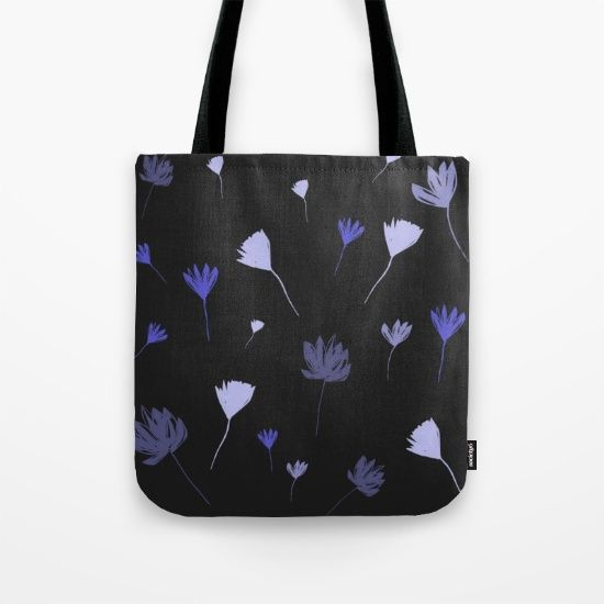 Flowers in the Night I Tote Bag