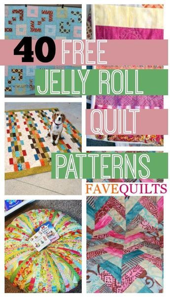 45 Free Jelly Roll Quilt Patterns   New Jelly Roll Quilts | FaveQuilts.com
