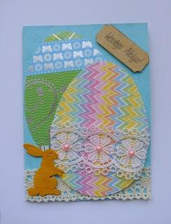 Kartka Wielkanocna: Papierow Różności, Moje Papierow, Easter Cards, Spring Cards