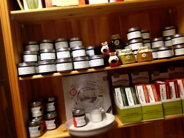 Flower Attic & Gifts. Virden Manitoba  Choices of spreads great for entertaining also some different seasonings we have