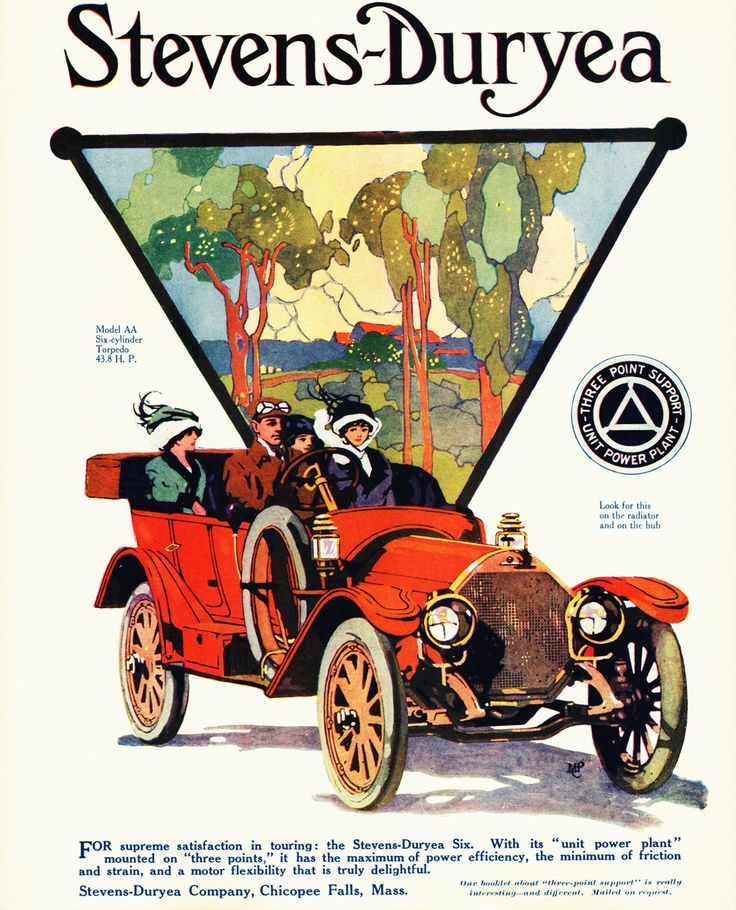23 best Stevens Duryea Car Ads images on Pinterest | Ads, Vintage ...