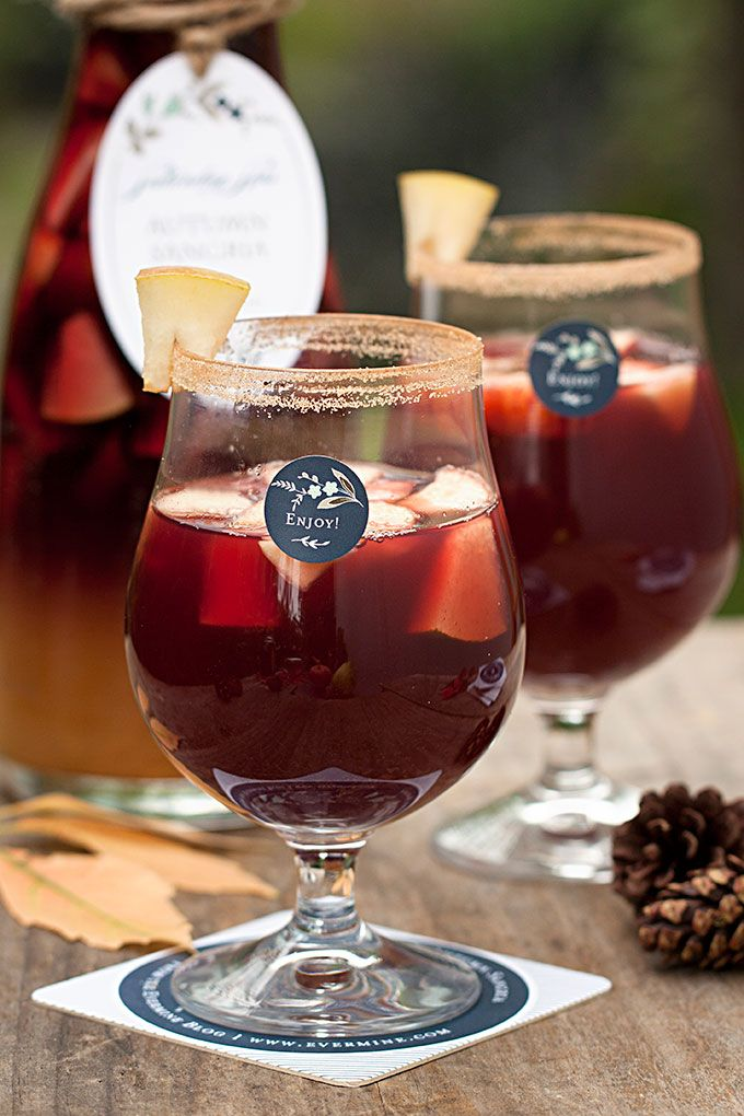 Autumn Sangria with Pinot Noir | The Evermine Blog | www.evermine.com