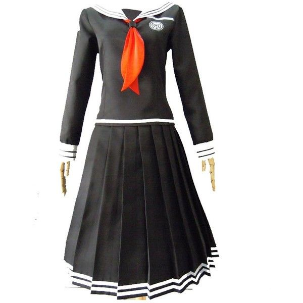 Dangan-Ronpa Toko Fukawa Cosplay Anime Suit Costume Uniform MD ($60) ❤ liked on Polyvore featuring costumes, animal halloween costumes, cosplay halloween costumes, role play costumes, cosplay costumes and animal costumes