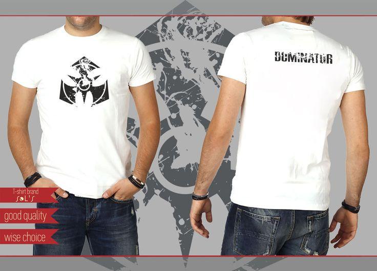 DOMINATOR HARDCORE HARDSTYLE FESTIVALS T-shirt White Size: S - XXL (DT700) #SOLS #HARDCOREHARDSTYLEFESTIVALS