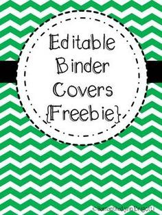 free printable binder covers and spines