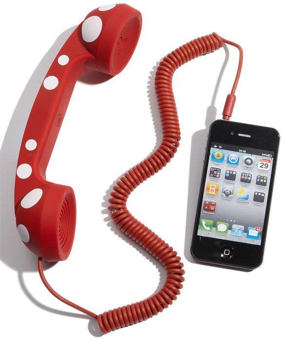 cool gadget!One Repin By Pinterest, Jayden Langholz, Christmas Presents, Style Handset, Lauren Christmas, Teléfono Para, Speakers Suck, Para Smartphone, Gustaría Tenerlo