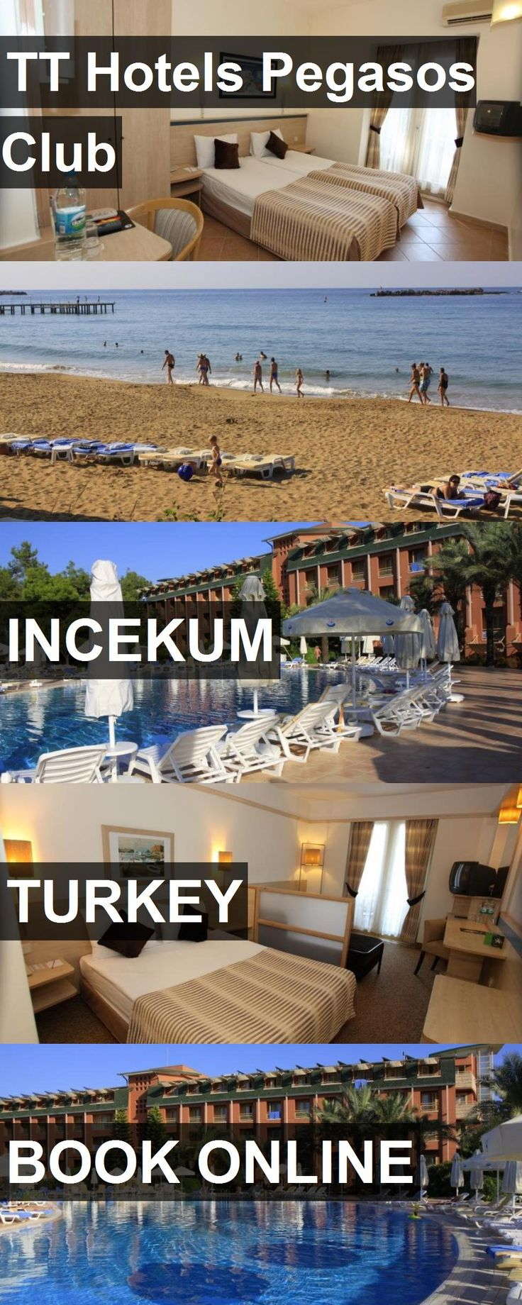 Hotel TT Hotels Pegasos Club in Incekum, Turkey. For more information, photos, reviews and best prices please follow the link. #Turkey #Incekum #TTHotelsPegasosClub #hotel #travel #vacation
