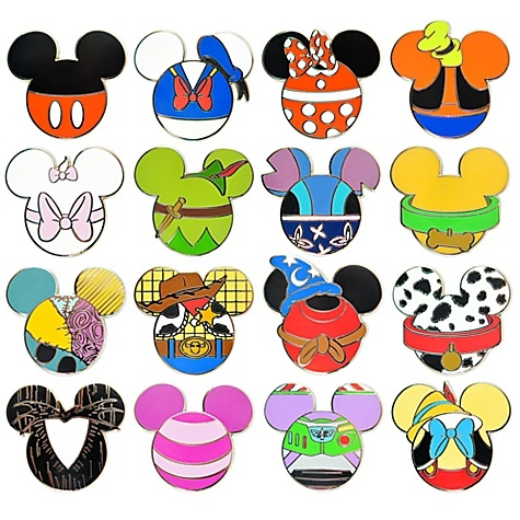 great to print and cut out to add themed hidden mickey s to my pages rh pinterest com Mickey Mouse Head Clip Art Mickey Mouse Head Clip Art