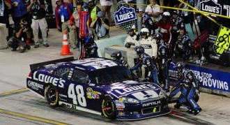 NASCAR Homestead: Jimmie Johnson's Chase hopes turn sour in final race - NASCAR - Sporting News