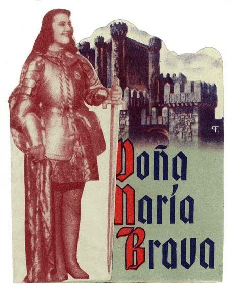 Doña María la Brava (1948) de Luis Marquina - tt0040301