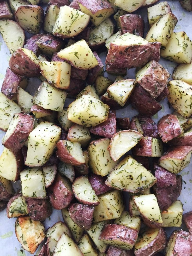 Ranch potatoes have become a favorite, whole30 approved staple in our house. They're quick and easy and a great way to feed a crowd. Plus, they reheat really well, too. We eat these with gril…