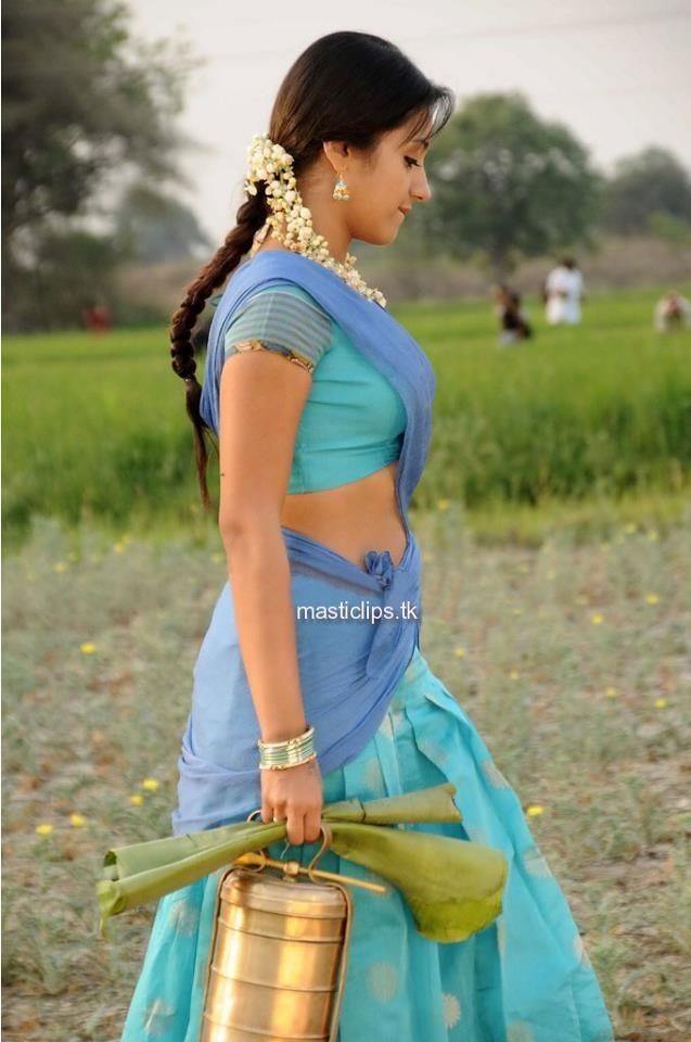 Trisha In Blue Saree Hot In Saree Pinterest Blue