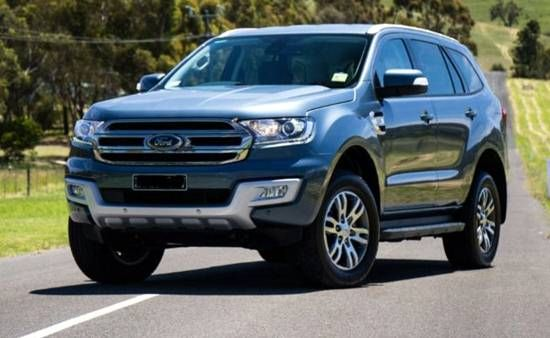 2018 Ford Everest Facelift Ford Redesigns Pinterest Ford Cars