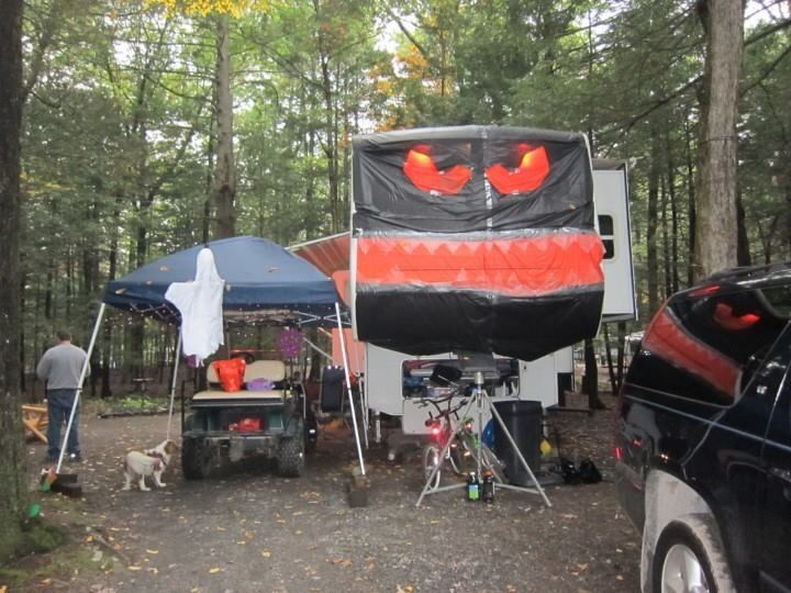 my camper for halloween - Halloween My Picture