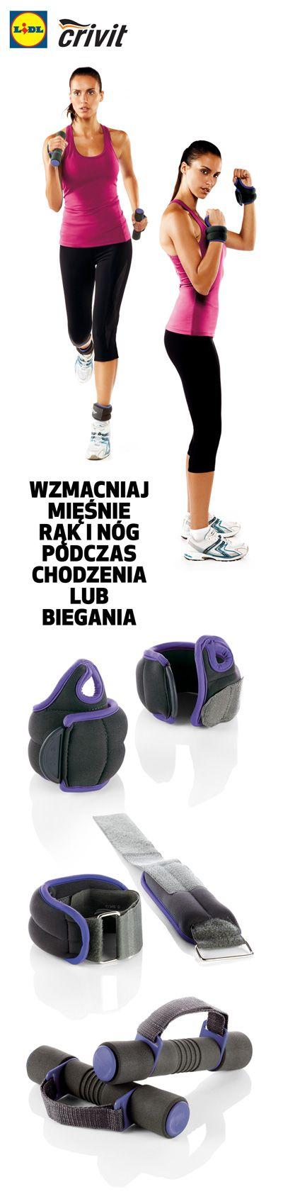 Idziesz na spacer, do pracy, do szkoły? Załóż ciężarki na nadgarstki i kostki! Nie potrzebujesz specjalnego stroju, by ćwiczyć swoje mięśnie! #lidl #ciezarki #fitness #trening