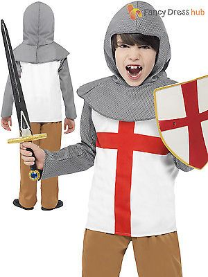 Childs horrible histories knight #fancy #dress costume boys #outfit book week kid, View more on the LINK: http://www.zeppy.io/product/gb/2/201496520871/