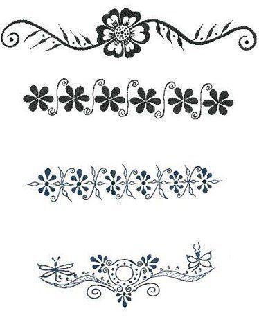 41 best flower wrist band tattoos images on Pinterest