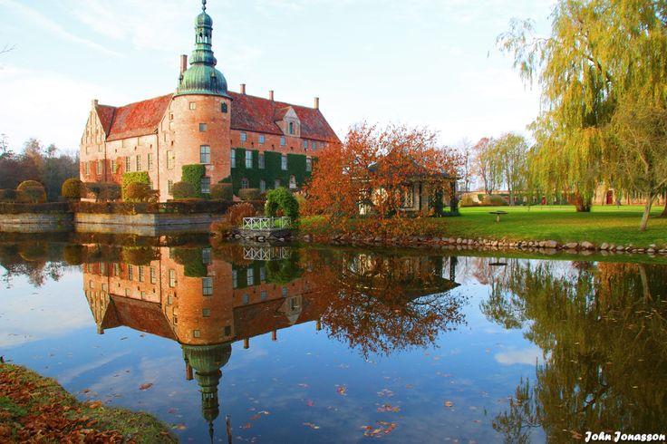 Vittskövle slott med anor från 1500 talet