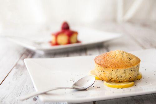 Gâteau au citron et au pavot Pour 6 personnes: Préparation: 15 minutes - Cuisson: 25 minutes 150g...