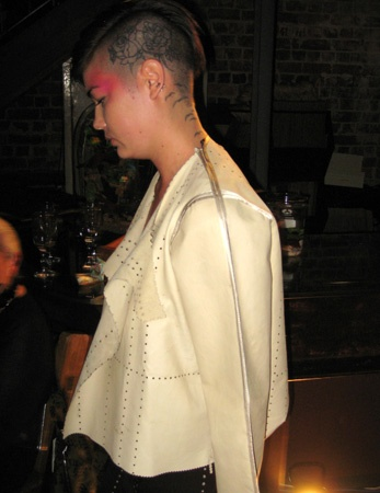 MATERIALBYPRODUCT jacket and dress