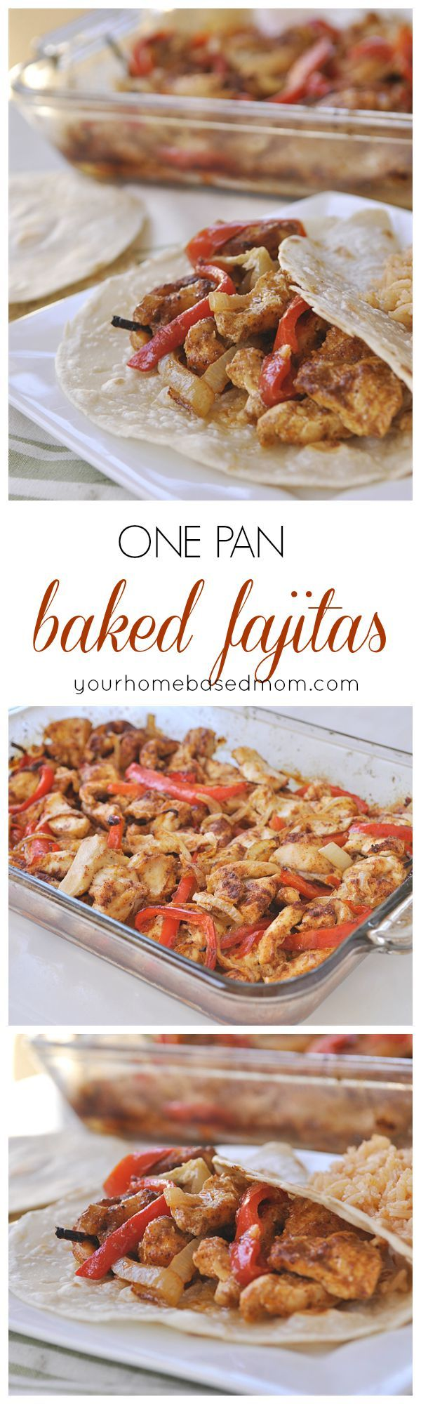 I cannot believe how much my kids loved this! One Pan Baked Fajitas are the perfect dinner solution!