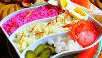 Aardappel Rode Bieten Salade (de populairste salade van Suriname)
