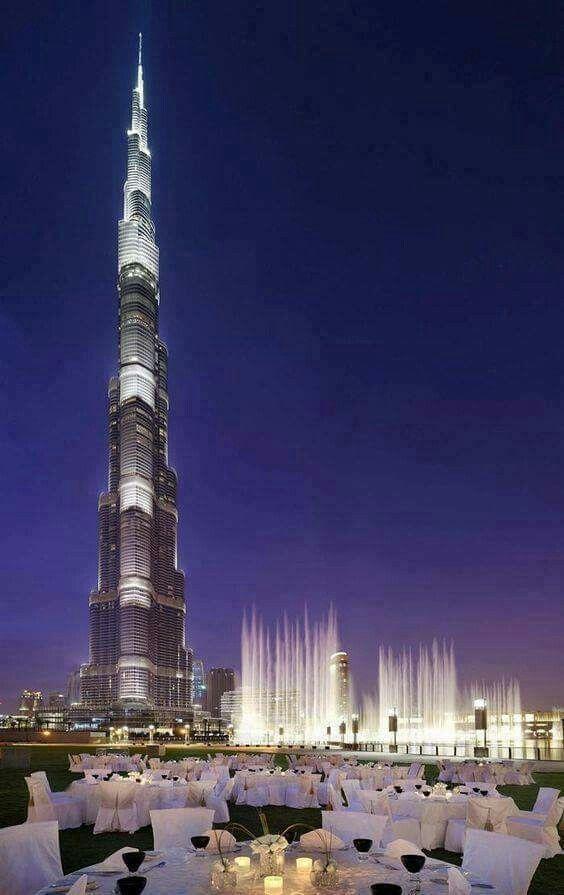 Tallest building in the world, Burj Khalifa, Dubai