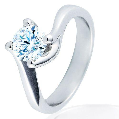 Anillo de compromiso con diamante 1038. Foto 1 de 3