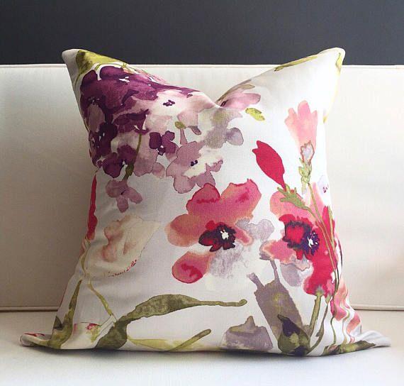 Copertura del cuscino copertura del cuscino floreale REBECCA