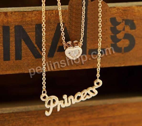 Zinklegierung Schmuck Halskette, mit Eisenkette, mit Verlängerungskettchen von 5cm, Buchstabe, Rósegold-Farbe plattiert, Oval-Kette & mit St...
