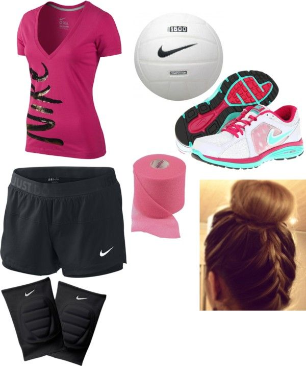 """Volleyball practice"" by never-a-hipster-its2mainstream ❤ liked on Polyvore"