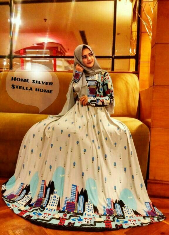 "Gamis stella home Rp. 176 rb  Order Wa 081337540790 Line ryenkeecollection  Lokasi kami, Search ""Baju muslim ryenkee"" Di google map"