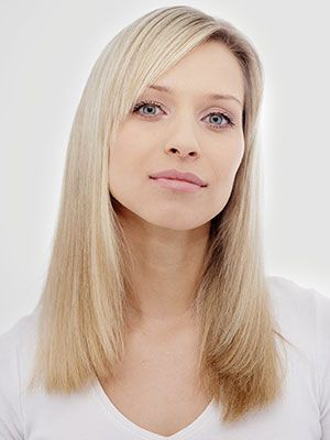 One length hairstyle