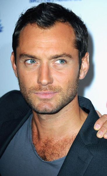 The obsession continues. Jude Law