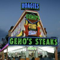 Geno's Steaks — visitphilly.com Famous cheesesteaks