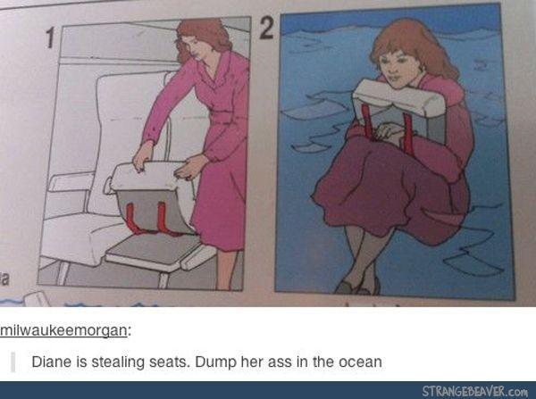Stealing seats