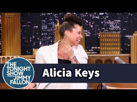 """Jimmy challenges Alicia Keys to a game of random musical impressions like Gwen Stefani singing """"Miss Mary Mack"""" and Adele singing """"The Alphabet Song."""" Subscr..."""