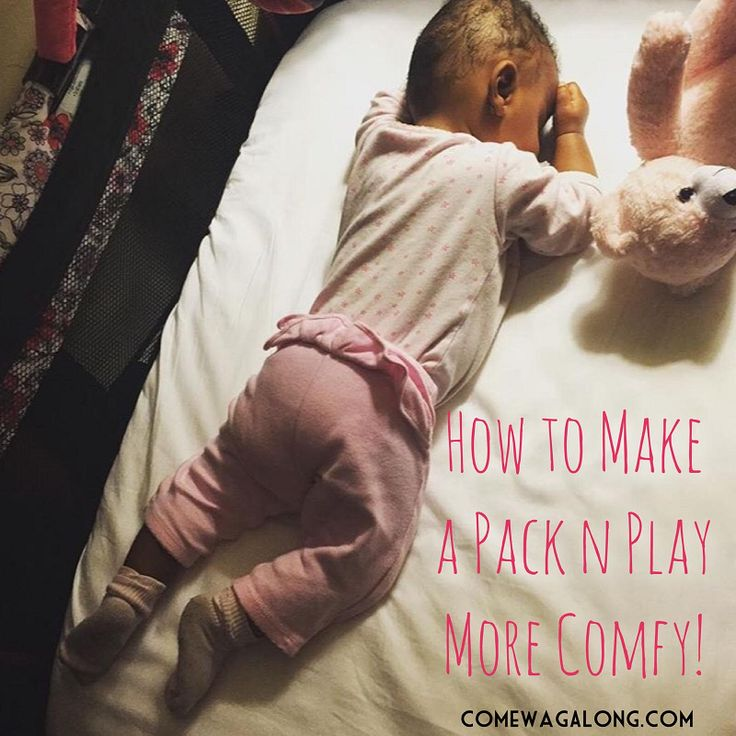 DIY: How To Make a Pack 'N Play More Comfortable