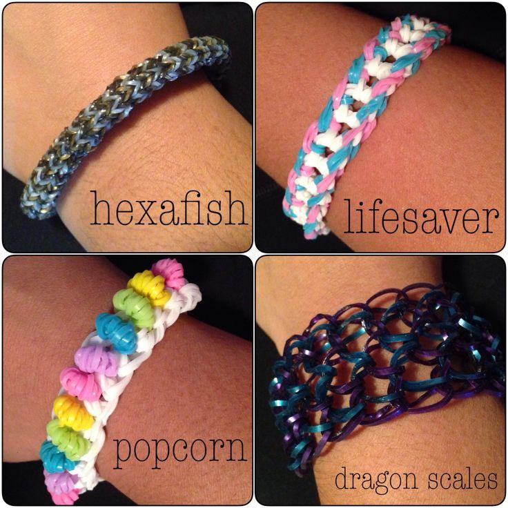 Loom Band Bracelets 3 Jaescrafthings Pinterest Loom