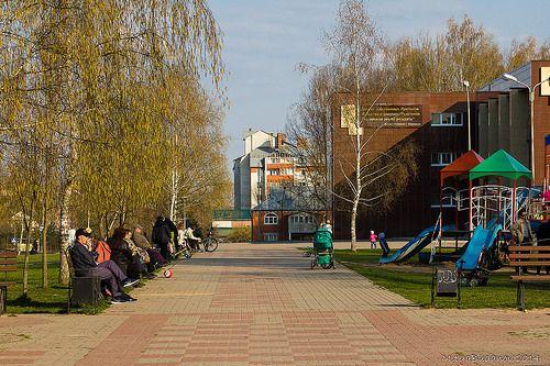 Весенняя природа и город Десногорск