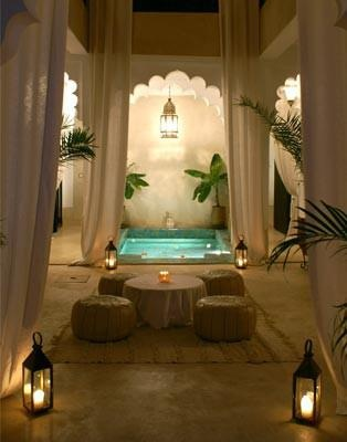 Romantic Turkish Bath design                                                                                                                                                      More