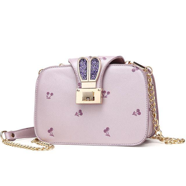 INLEELA Cute Cherry Bag Small Fashion Women Bag High Quality Rabbit Ears Shoulder Bag Party Time Messenger Bag