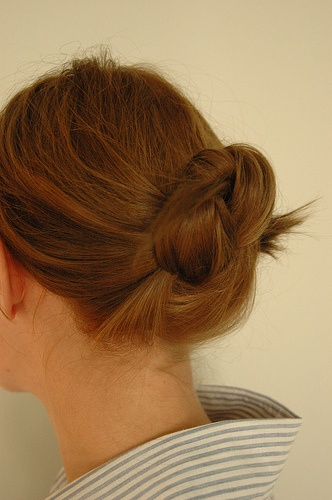 78+ images about Waitress Hair. on Pinterest Updo, My hair and ...
