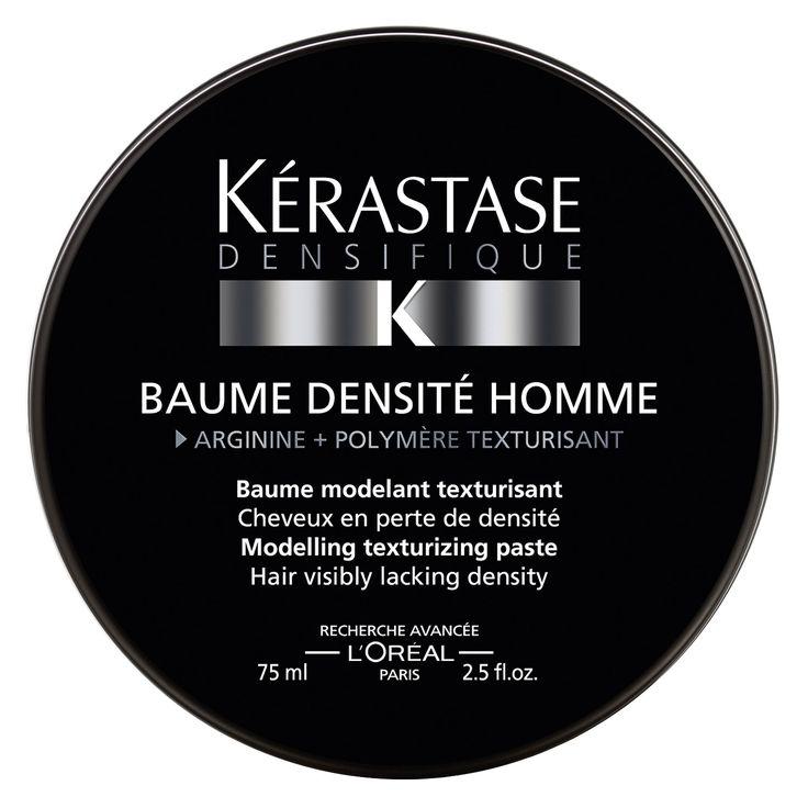 Texturisierende Modellier-Paste. Flexibler Halt. Vermehrte Haarmasse. Das Haar wird geschützt und ist leicht zu bearbeiten. Für Männer, mit sichtbar dünner werdendem Haar.
