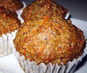 Muffins aux carottes et graines de lin