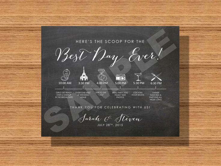 78 Best ideas about Wedding Day Itinerary on Pinterest   Wedding ...