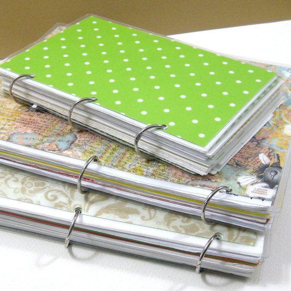 Three Ring Binder Journal 6 x 9 Journal Binder by CrownBindery