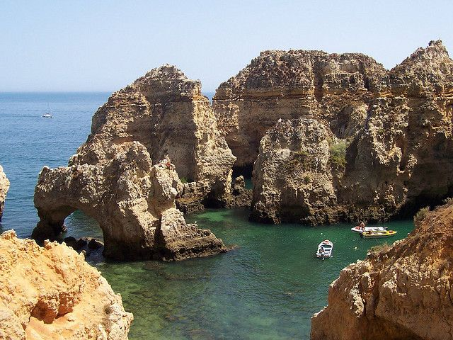 Sunny Mediterranean climate, gorgeous beaches, picturesque towns, historic sites, fabulous cuisine and affordable costs are just some of the reasons that make the Algarve one of the best places to visit in Portugal. Located in the country's southernmost region, the Algarve offers a feast for the eyes, from tranquil landscapes of olive groves, traditional whitewashed villages to the wild, windswept coast with its dramatic cliffs dotted with summer resorts.