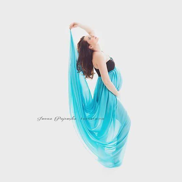 Suknia do nabycia na www.propser.eu #maternitygown #sukniedosesjibrzuszkowych #iwonapajewskafotokraina #propsereu