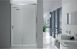 They are the perfect alternative to conventional shower curtains not just because they are attractive, but also because they eliminate the hassle and messiness of cleaning a pool of water in the bathroom.